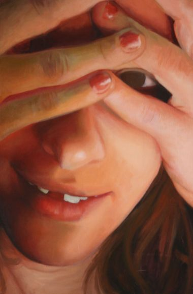 """""""Heather No. 2"""" Oil on Canvas, 24""""x36"""", 2014"""