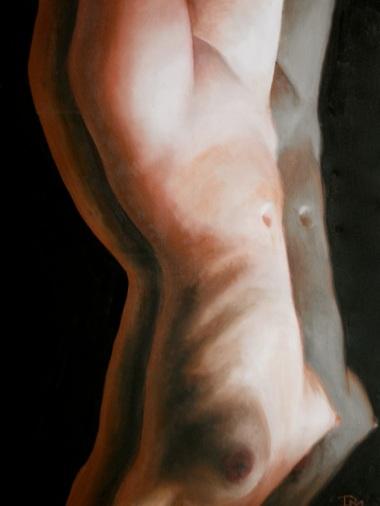 """""""Allison"""" Oil on Canvas 24""""x36"""" 2013"""