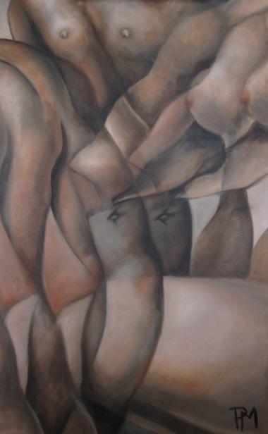 """Study of Raphael"" Oil on Canvas 18""x24"" 2013"
